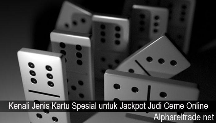 Kenali Jenis Kartu Spesial untuk Jackpot Judi Ceme Online